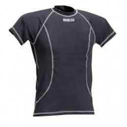 Camiseta Interior Sparco Manga Corta Negro