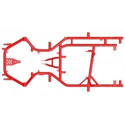 Chasis Tecno SS30/30 Freno Volante
