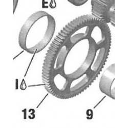 Engranaje Rotax DD2 77z Nº 13