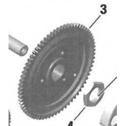Corona Arranque Rotax DD2 70T Nº3