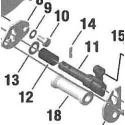 Shift Contact Rotax DD2 Conjunto Nº11-14