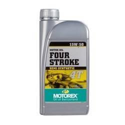 Aceite Motorex 4 tiempos 15W50 1 litro