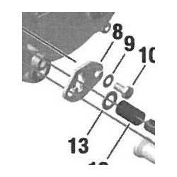 Chapa Guía Cables Rotax DD2 Nº8