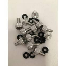 Tornillo Seguridad Aluminio Set 12