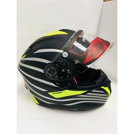 selección especial de Mejor precio tecnologías sofisticadas Casco MT Targo Doppler Negro/amarillo fluo