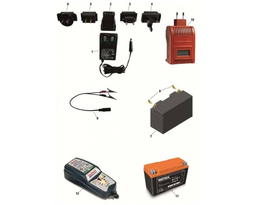 Rotax Max ® Recambios Batería y Accesorios | KPS Racing Oficial