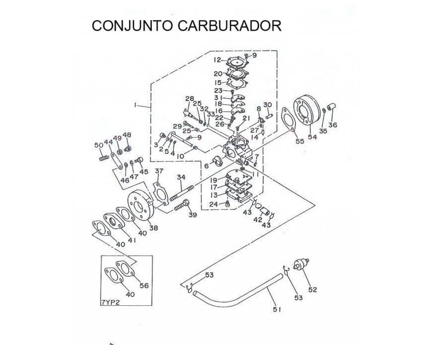 Conjunto Carburador
