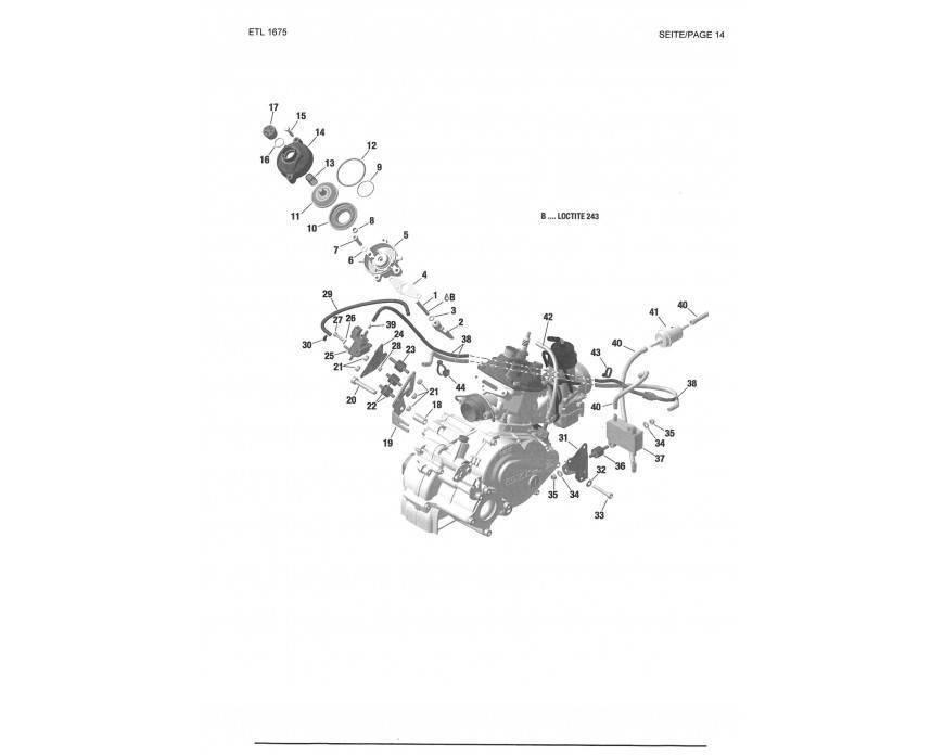 Válvula Escape EVO DD2, bomba gasolina